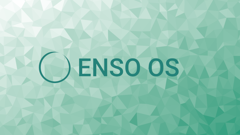 Banner for Enso OS