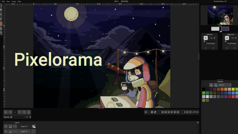 Banner for Pixelorama